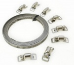 Hose Clamp Clips Jubilee Kit Make Your Clamps Any Size 3m X 8mm 8 Clamps